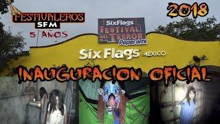 Festival Del Terror 2018 Six Flags México | Inauguración y Casas del Terror