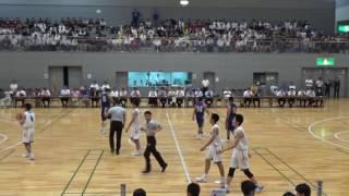 如水館 vs 広島皆実 Q1 広島県総体2017決勝