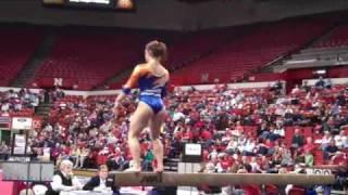 Allison Buckley- beam Illinois Gymnastics @ Nebraska