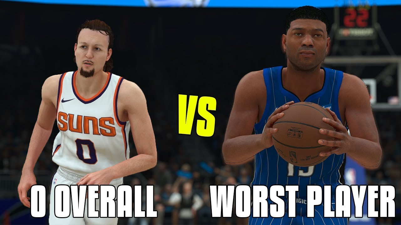 dd48d7e36 Can A 0 Overall Beat The Worst Player In The NBA In A 1v1