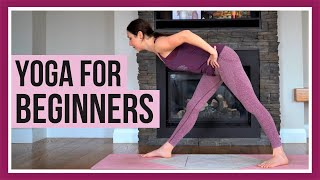 30 Min Beginner Yoga - Flexibility, Strength & Balance