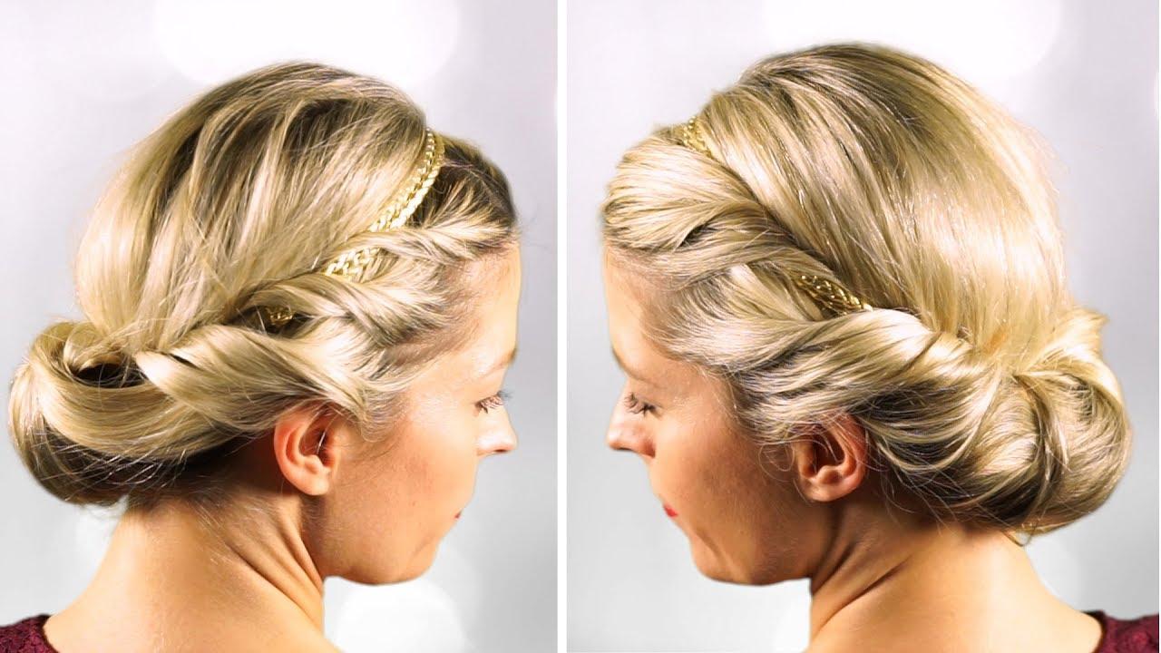 schön elegante einfache frisuren | finden sie die beste
