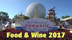 Eating Around the World   Epcot International Food & Wine Festival 2017