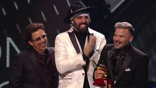 Pedro Capo Wins Song Of The Year | 2019 Latin GRAMMYs Acceptance Speech