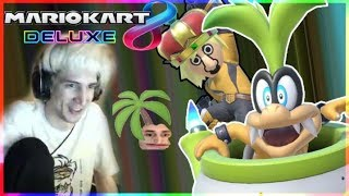 GETTING BETTER! - xQc Plays Mario Kart 8 Deluxe with Stream Snipers | xQcOW