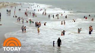 Debate Over Lockdown Of Open Spaces Intensifies As Georgia Reopens Beaches   TODAY