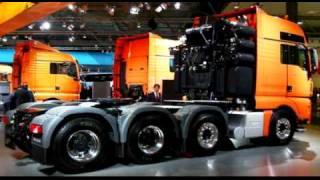 MAN Trucks ( MAN TGX, ... ) - from the Scania-Channel