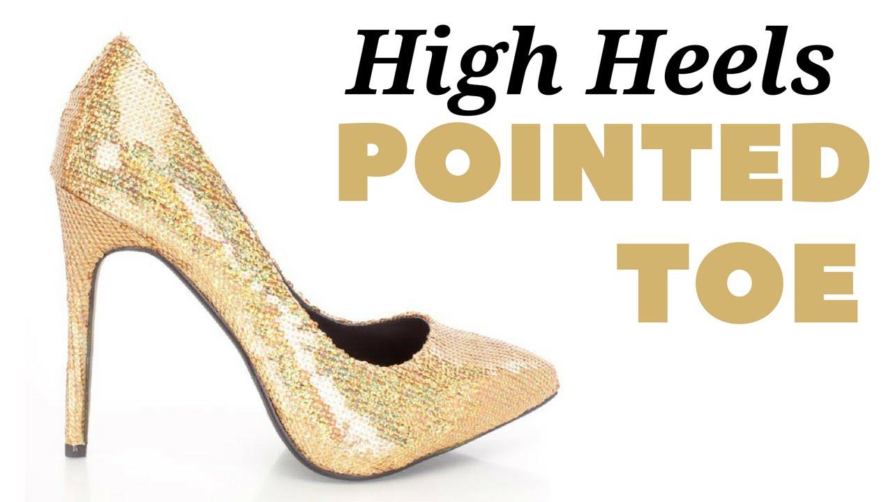 Ladies Pointed Toe High Heels Under 20