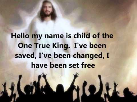 Hello my name is By Matthew West w/Lyrics
