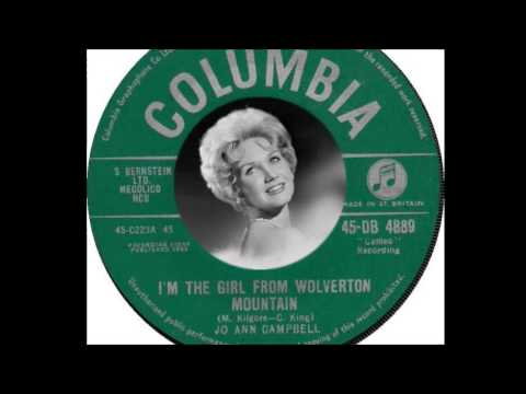 Jo Ann Campbell - I'm The Girl From Wolverton Mountain  (1962)