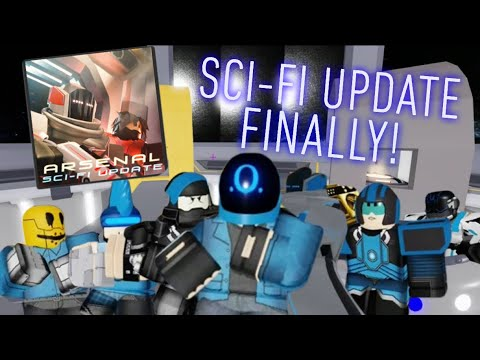 NEW SCI-FI UPDATE IN ARSENAL! (VERY COOL)   ROBLOX