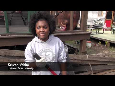 LSU and Southern University Students Aid in Restoring African American Museum