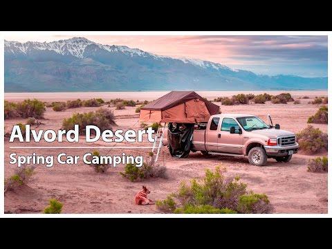 Roof Top Tent Car Camping | Alvord Desert Oregon | Willow Creek Hot Springs