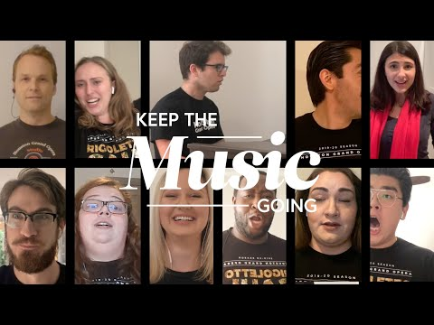 The Marriage of Figaro - Finale - Houston Grand Opera Studio and Alumni - #KeeptheMusicGoing