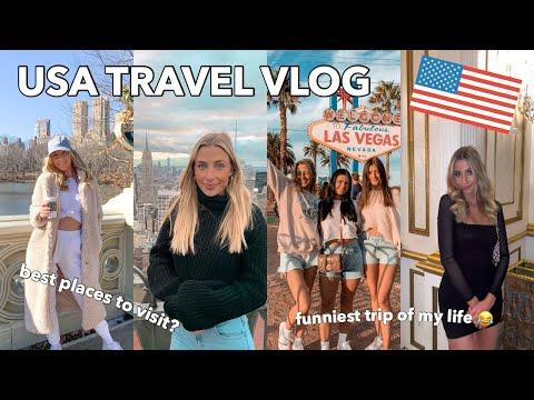 USA TRAVEL VLOG / CRAZIEST TRIP OF MY LIFE