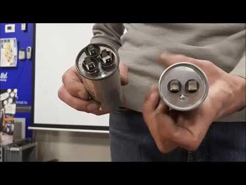 Как проверить пусковую ёмкость однофазного компрессора