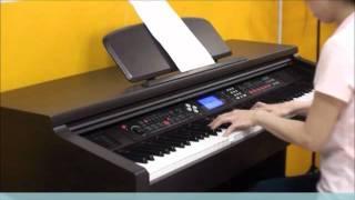 【奇歌音樂學苑】88鍵數位電鋼琴演奏試聽,DP2000,5極重鎚力道標準鍵,標準三踏板,非電子琴聲【奇歌樂器】