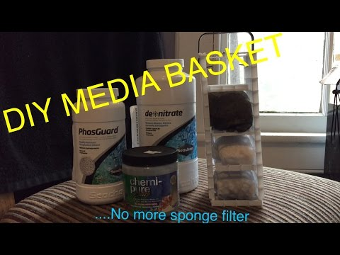 How To Make Your Own Media Basket | Cheap And Easy
