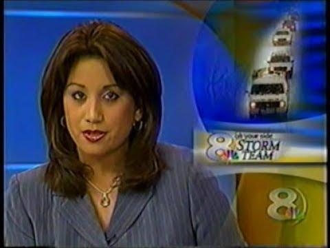 WFLA 8 Tampa - 12/6/03 - 6pm News