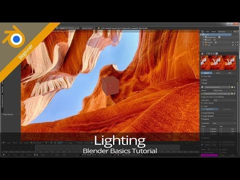 Blender 2 7 Basics — Tutorial 05: Lighting - Jen S Abbott