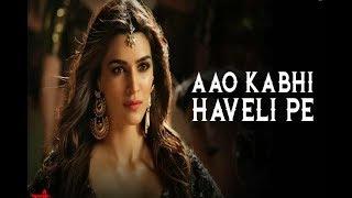 Aao Kabhi Haveli pe || Estri || Badshah || Nikhita Gandhi  || 2018 || New (Horror) Song