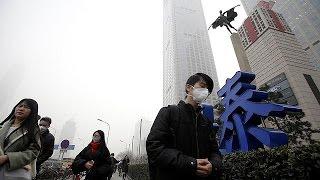 فيديو.. ناطحات السحاب تختفي عن الأنظار في بكين بسبب الضباب