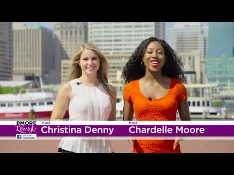 Chardelle Moore Host BMORE Lifestyle Television Show