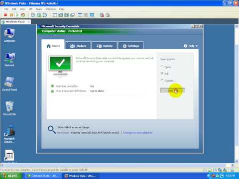 Microsoft Security Essentials Detection and Removal Tests