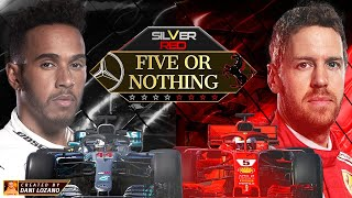 SILVER V RED - FIVE OR NOTHING (Vettel vs Hamilton F1 2018)