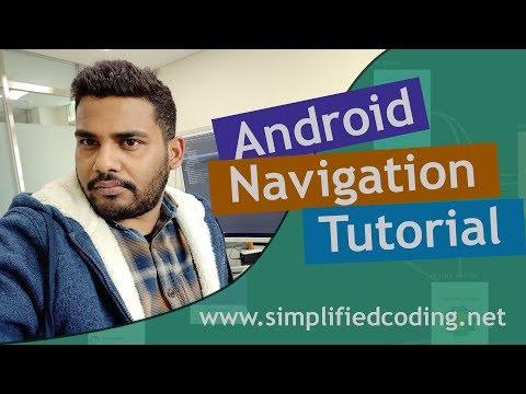 Android Navigation Tutorial For Fragments Using Bottom Navigation