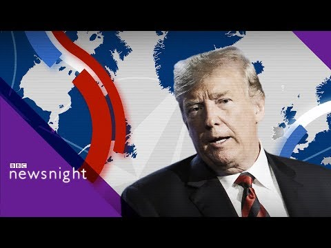 Trump's UK visit Day 1: Discussion - BBC Newsnight