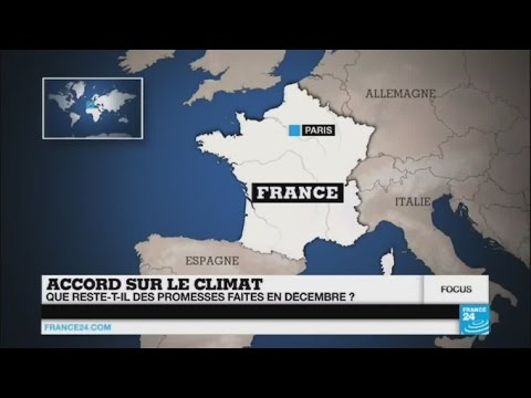 COP21 : que reste-t-il des promesses faites à Paris ?
