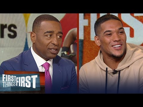 Steelers James Conner talks LeVeon Bell, Key to his success this season | NFL | FIRST THINGS FIRST