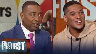 Steelers' James Conner talks Le'Veon Bell, Key to his success this season | NFL | FIRST THINGS FIRST