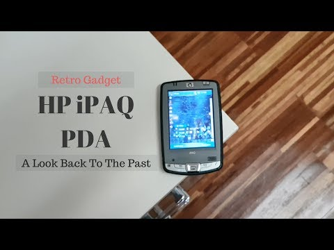 HP iPAQ PDA - A Look Back to 2007