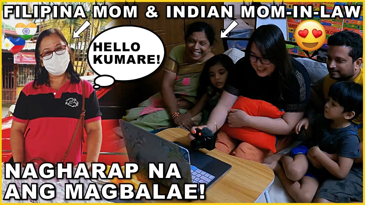 NAGHARAP NA ANG MAGBALAE! FILIPINA MOM AND INDIAN MOM-IN-LAW! ANU-ANO ANG NAPAG-USAPAN? ❤️