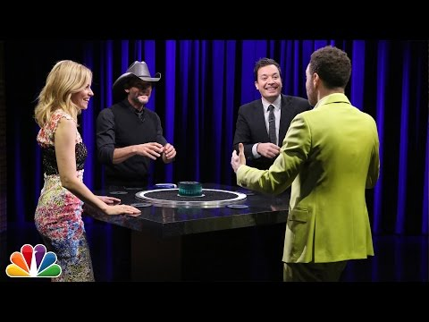 Catchphrase with Elizabeth Banks, Jon Glaser and Tim McGraw