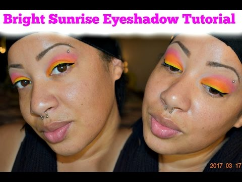Bright Sunrise Eyeshadow | Sleek Makeup Palette