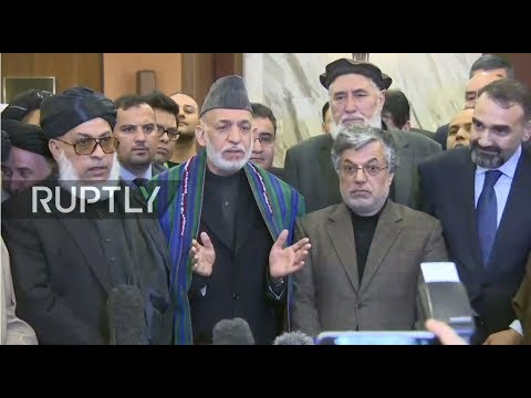 LIVE: Press conference after first day of intra-Afghan talks in Moscow