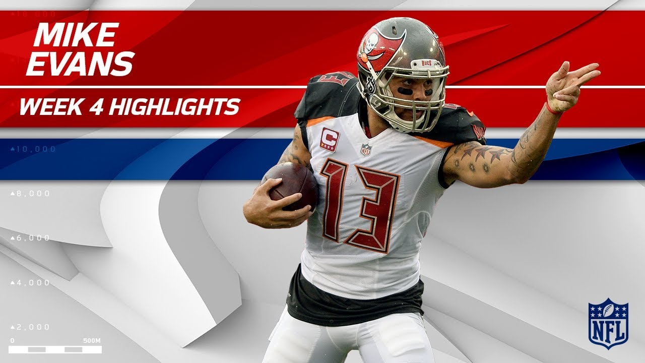 Mike Evans Big Day vs New York Giants vs Buccaneers