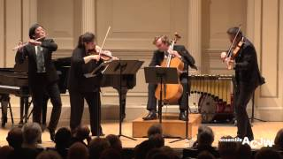 Ensemble ACJW: Mozart Flute Quartet in D Major, K. 285 (Complete)