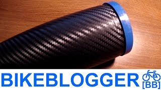 Carbon Fiber Bike Can!? Water Bottle Cage Storage Commute BikeBlogger