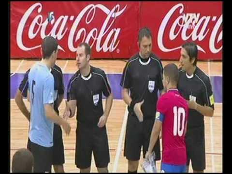 Amistoso Futsal Uruguay vs Costa Rica