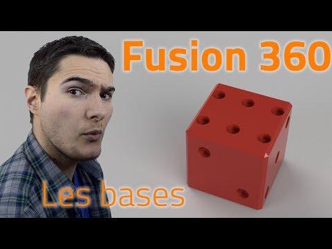 FUSION 360 - LES BASES POUR BIEN DEBUTER