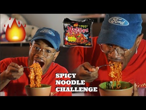 Spicy Noodle Challenge! - (Are YouTubers Faking How Spicy It Is?)