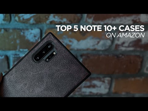 Top 5 Note 10+ Cases On Amazon