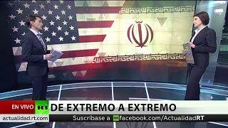 Irán descarta acercamiento con EE.UU. mientras siga imponiendo sanciones