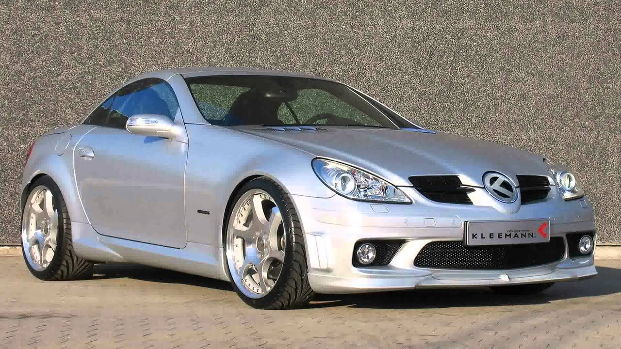 mercedes benz slk r171 tuning cars youtube