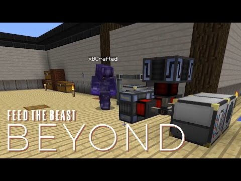 FTB Beyond w/ xB - POWER GENERATION TESTING [E17] (Modded Mi