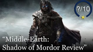 Middle Earth: Shadow of Mordor PS4 Review